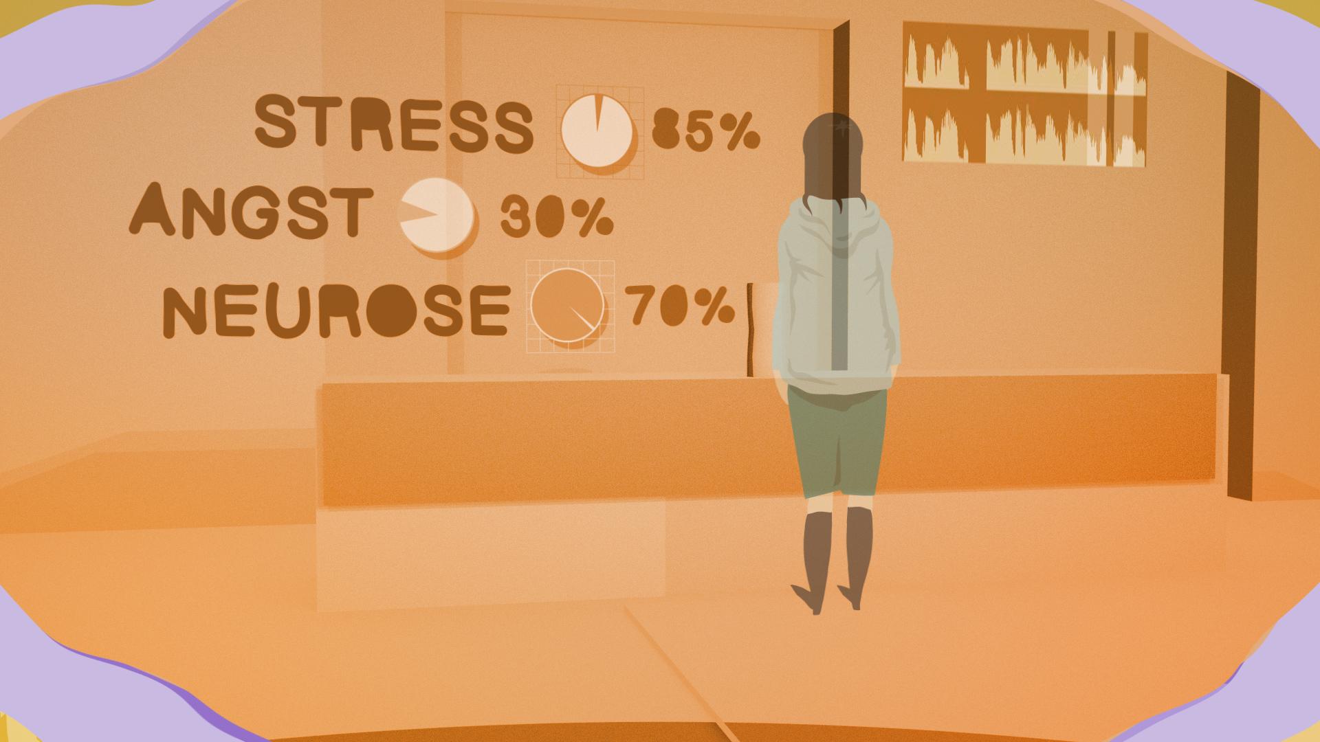 Daten ohne Kontext: Computeranalysen liefern wichtige Erkenntnisse zum Gesundheitszustand eines Menschen. Dinge wie Liebeskummer oder Stress, die uns als soziale Wesen auszeichnen, bilden sie dabei eher nicht ab.