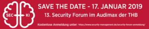 13. Security Forum TH Brandenburg